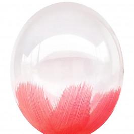 """Опция Brush шар """"Красный Браш"""" 14"""" (35 см) – фото 2"""