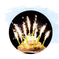 Свечи-фейерверк