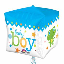 """Опция Фольгированный шар куб """"Baby Boy"""" – фото 4"""