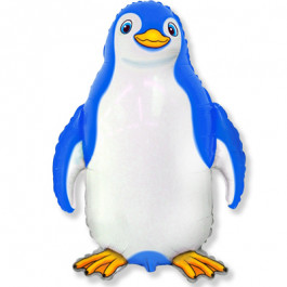 """Опция Фольгированный шар """"Пингвин голубой"""" – фото 1"""