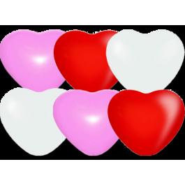 """Опция Гелиевые шары """"Сердечки"""" (26 см)  – фото 1"""