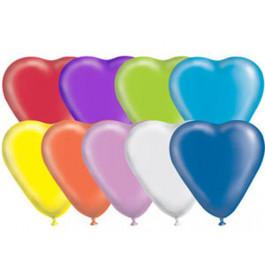 """Опция Гелиевые шары """"Сердечки ассорти"""" (30 см)  – фото 1"""