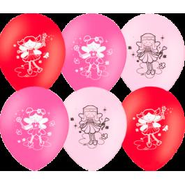 """Опция Гелиевые шары """"Феечки"""" (30 см)  – фото 1"""