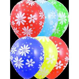 """Опция Гелиевые шары """"Ромашки мелкие"""" (30 см)  – фото 3"""
