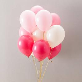 Опция Букет шаров для девочки 17 шт. – фото 3