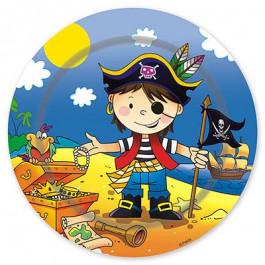"""Опция Тарелки """"Маленький Пират"""" 17см 6 шт. – фото 2"""