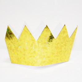 Опция Корона фольгир. золотая 6 шт. – фото 3