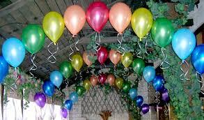 Заказать Как украсить зал шарами: красиво оформить своими руками - фото 2